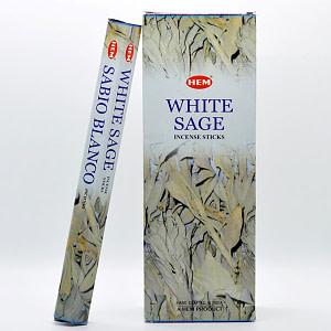 Betisoare parfumate HEM WHITE SAGE BTP White Sage