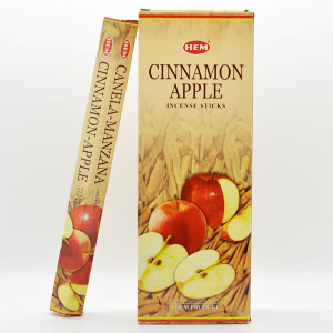 Betisoare parfumate HEM cinnamon apple BTP cinnamon apple
