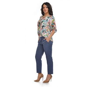 Bluza imprimeu floral V105 2