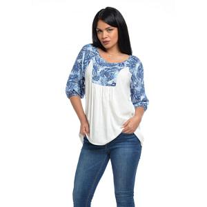 Bluza platca paisley V109 1