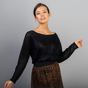 Bluza pulover lana bleumarin Ali3 1