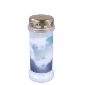 Candela din plastic cu capac anti ploaie Heaven Bo nr
