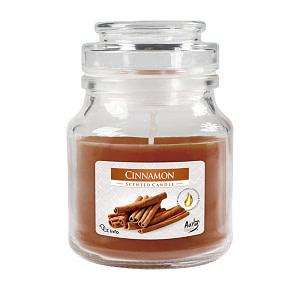 Lumanare pahar parfumat SND71 65 Scortisoara SND71 65