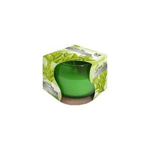 Lumanare parfumata in pahar de sticla ceai verde SN 71 83 ceai verde