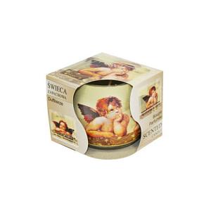 Lumanare parfumata in pahar de sticla inger sn71 35 inger