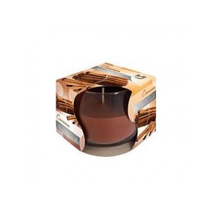 Lumanare parfumata in pahar de sticla scortisoara SN 71 65 scortisoara