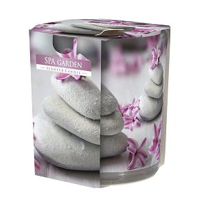 Lumanare parfumata in pahar imprimat SN 72 S 22 SPA SN72S 22