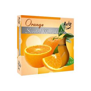 Lumanare pastila maxi parfumata p40 63 portocala