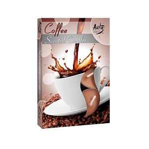 Lumanare pastila parfumata 6 bucset aroma cafea P15 xx cafea