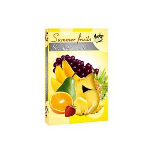 Lumanare pastila parfumata 6 bucset aroma fructe de vara P15 xx fructe de vara