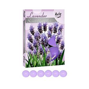 Lumanare pastila parfumata 6 bucset aroma lavanda P15 xx lavanda