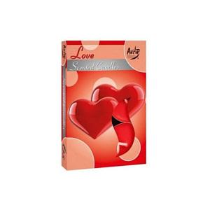 Lumanare pastila parfumata 6 bucset aroma love P15 xx love
