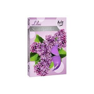 Lumanari pastila parfumata 6 bucset aroma liliac P15 xx liliac
