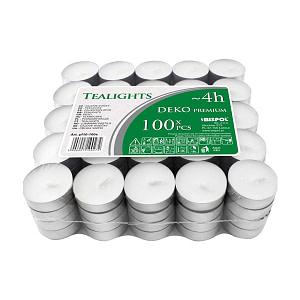 Lumanari tip pastila neparfumate pf10 100s