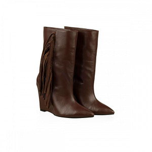 botine piele naturala browny n145 1