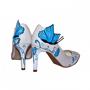 butterfly blue anafashion 1
