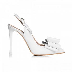 pantofi albi din piele naturala celia  1