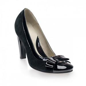 pantofi anafashion negru lac 1