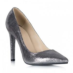 pantofi argintii piele naturala marissa s105 1
