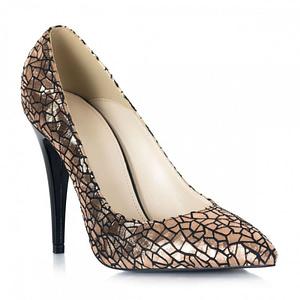 pantofi aurii stiletto ellen l01 1