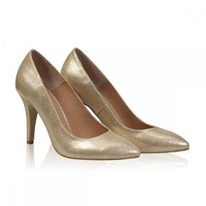 pantofi aurii 2