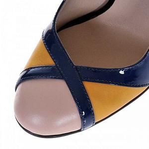 pantofi bleumarin din piele naturala cromatic s25 1