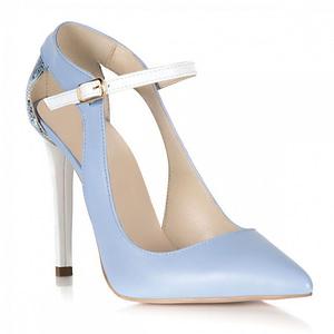 pantofi blue arina din piele naturala s103 1