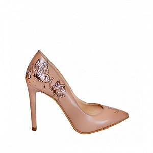 pantofi cappuccino ariel pictati manual l101 1