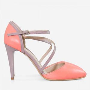 pantofi corai din piele naturala eva d11 1