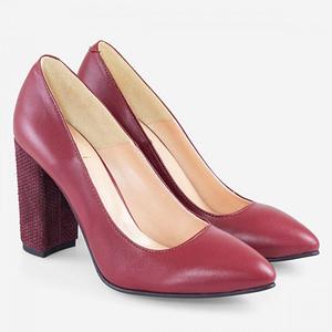 pantofi cu toc gros envy 4035 4