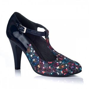 pantofi dama cu bareta duo multicolor v11 1
