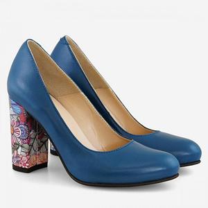 pantofi dama dark blue galaxy d110 1