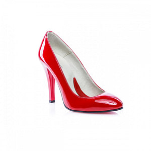 pantofi dama mini stiletto rosu lac 1