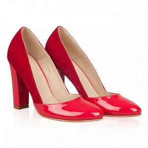 pantofi dama p23n new red anafashion1