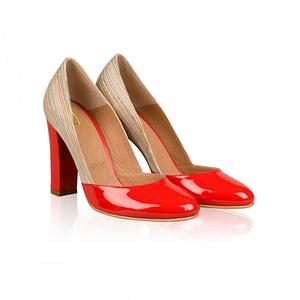 pantofi dama red class