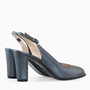 pantofi decupati gri antracit piele maya d99 1