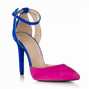 pantofi fuchsia din piele naturala sara s32 1