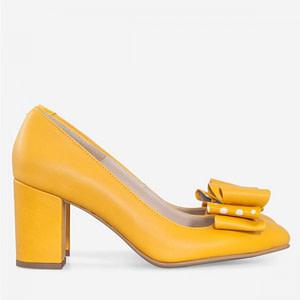 pantofi galbeni cataleya d1