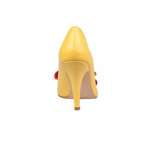 pantofi galbeni din piele naturala sabrina n17 1