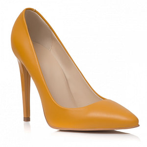 pantofi galbeni stiletto felicity c2 1