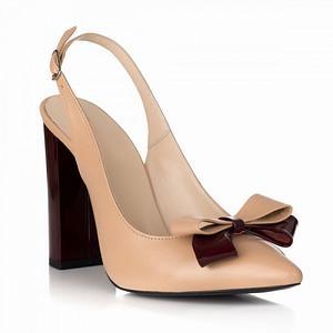 pantofi kamelia din piele naturala s28 1