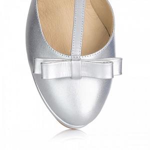 pantofi mireasa argintii l 1