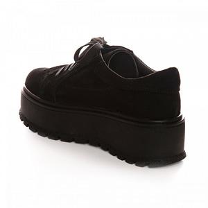 pantofi negri din piele naturala margo v15 1