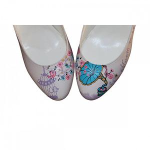 pantofi notes pictati manual