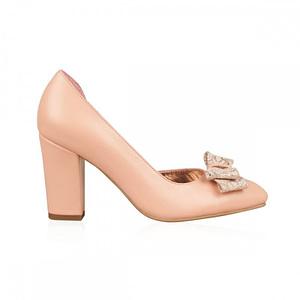 pantofi nude carmina n55 1