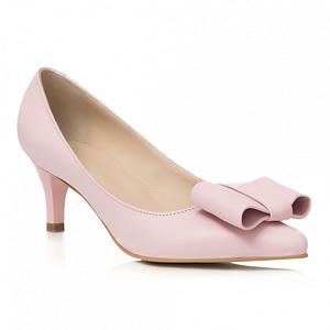 pantofi nude din piele anafashion 1