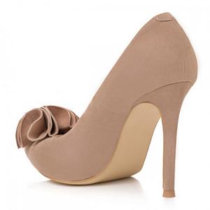 pantofi nude din piele naturala aida l77 1
