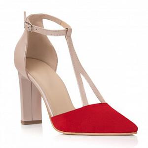 pantofi nude din piele naturala ester c103 1  1 4