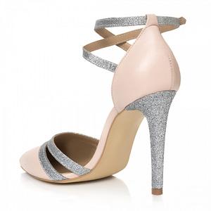 pantofi nude din piele naturala selia 1