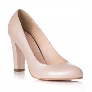 pantofi nude piele aura l07 1